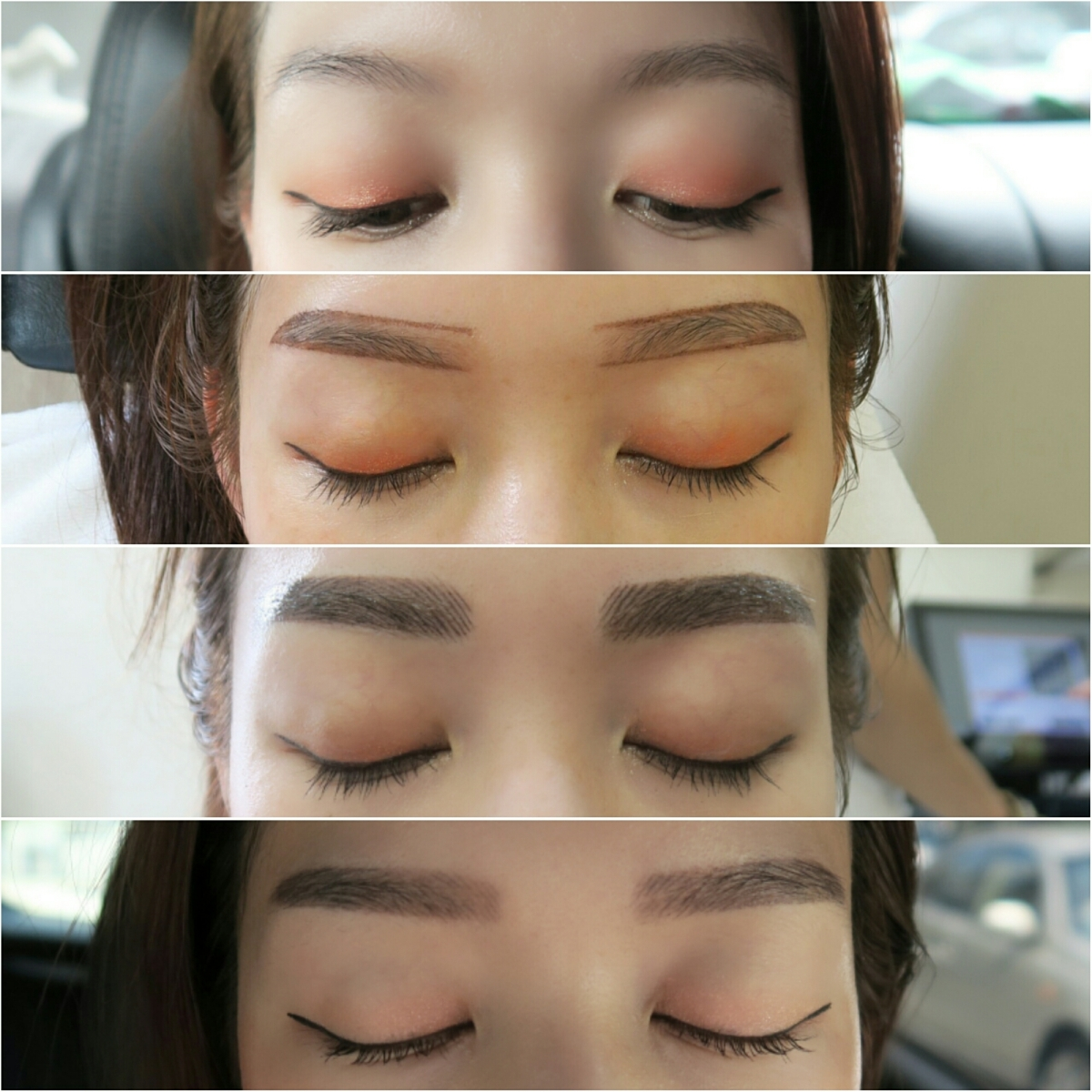 Beauty Review 6d Nano Eyebrow Embroidery At Sunshine Brow Studio